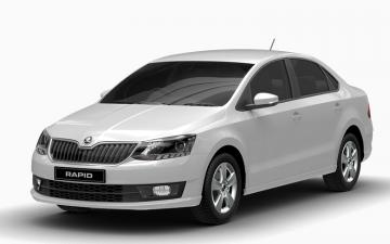 Skoda Rapid One Rent A Car